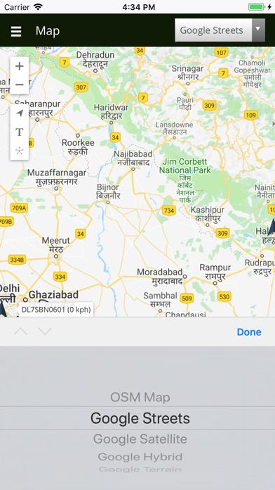 Vosch GPS screenshot two