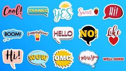 Best Sticker for Daily Texting screenshot one