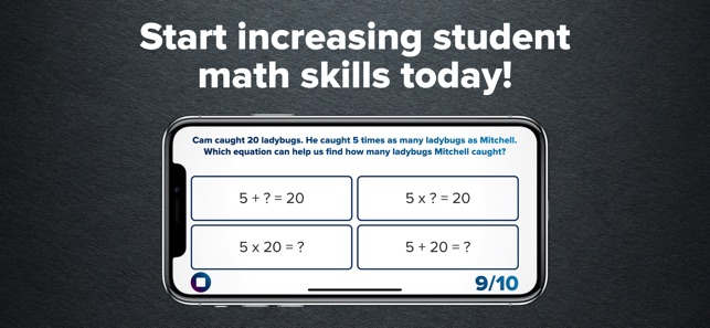 4th Grade Math Practice Screenshot