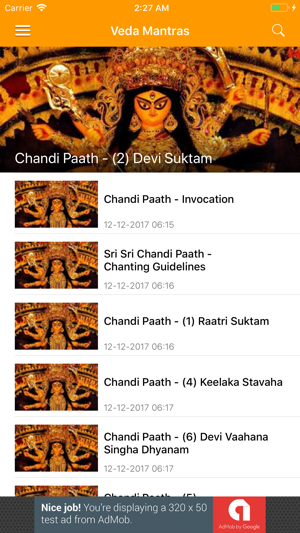Veda Mantras and Stotras on the App Store