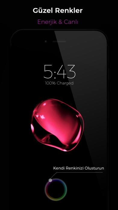 Black - Live Wallpapers iphone ekran görüntüleri