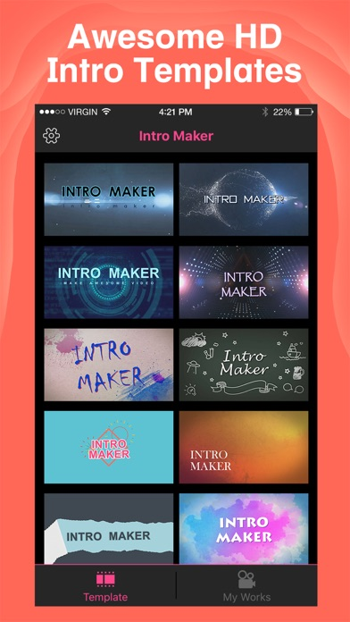 Intro Maker- yt intro designer by zhang dan (iOS, United Kingdom ...
