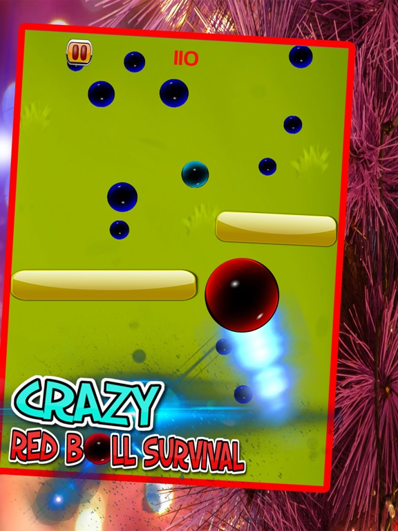 Crazy Red Ball Survival-ipad-2