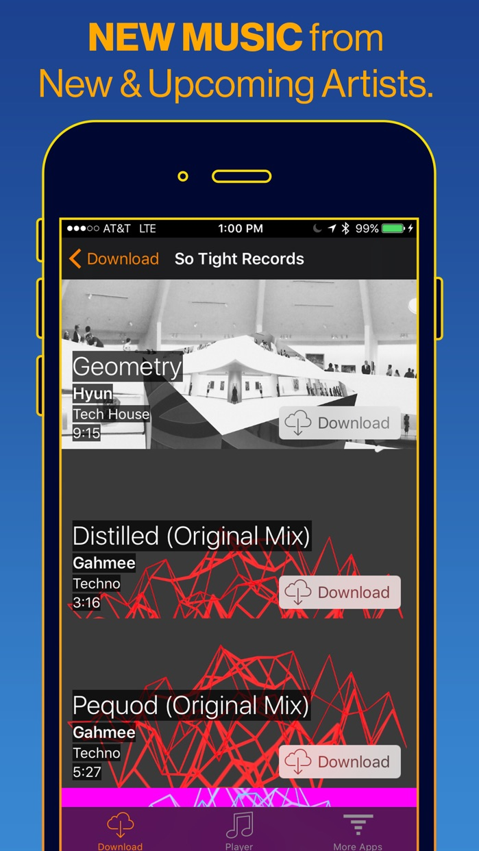 Cloud Music Player+ Screenshot
