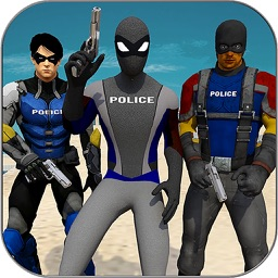 Super Police Heroes: City Supermarket Rescue