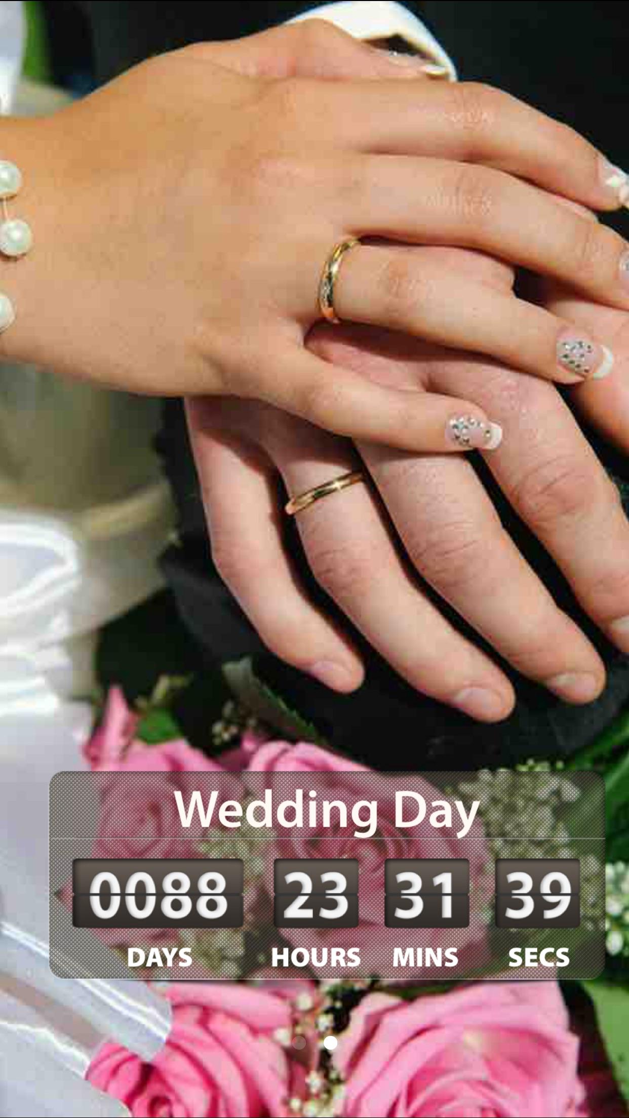 Wedding Countdown ! Screenshot