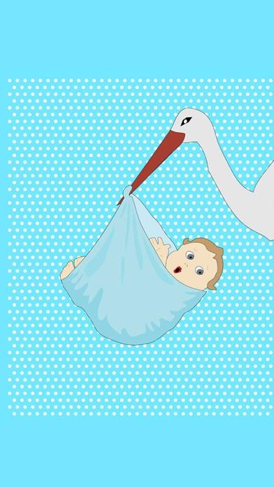 Baby - Birth Card Maker screenshot 2