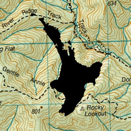 NZ Topo50 North Island