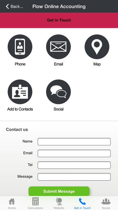 Flow Online Accounting screenshot three
