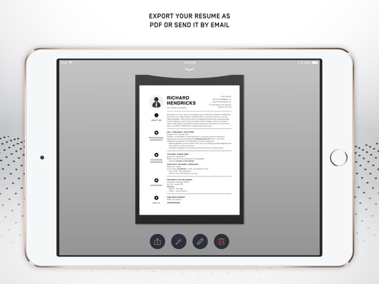 Resumer: CV & Resume builder screenshot 7