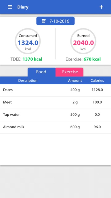 Weight Gain Calculator screenshot-4