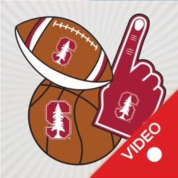 Stanford Cardinals Animated Selfie Stickers