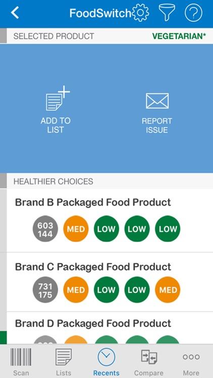FoodSwitch screenshot-4
