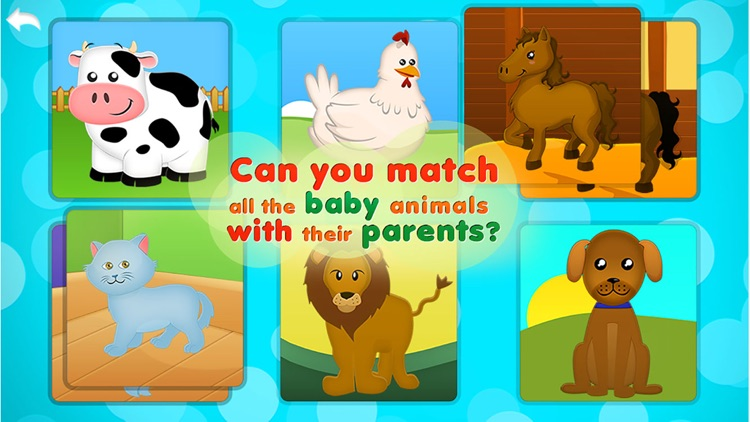 Animals Babies Puzzles Lite screenshot-1