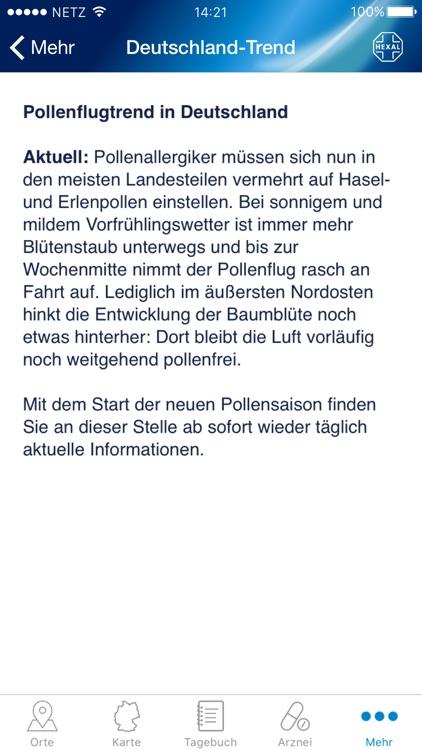 Pollenflug-Vorhersage screenshot-4