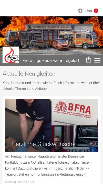Freiwillige Feuerwehr Tegelort