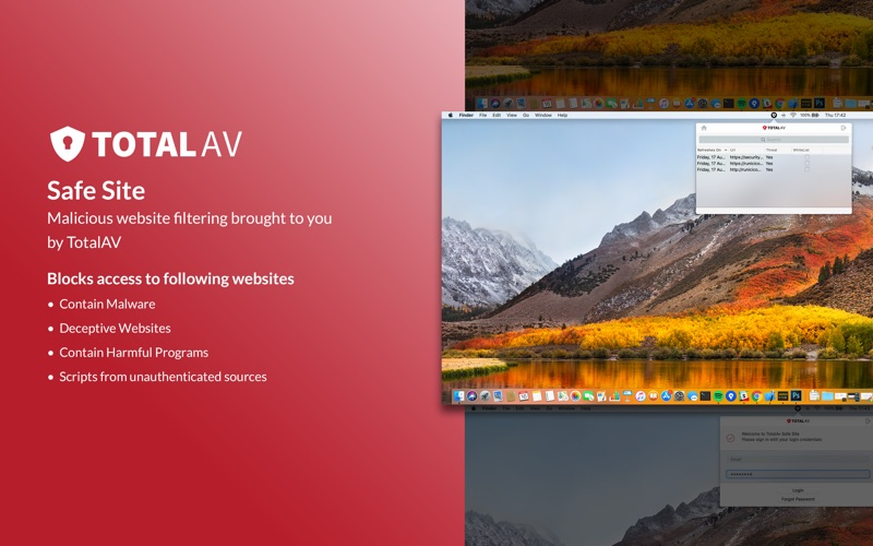 TotalAv Safe Site скриншот программы 3