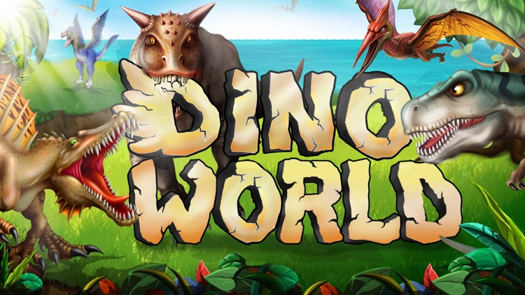 DINO WORLD -Jurassic Idle game screenshot-0
