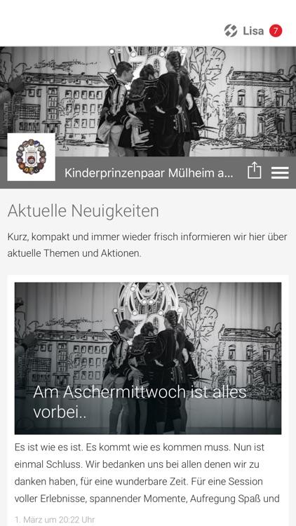 Kinderprinzenpaar Mülheim