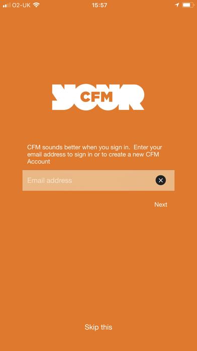CFM screenshot one