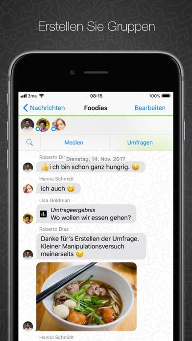 Screenshot for Threema in Germany App Store