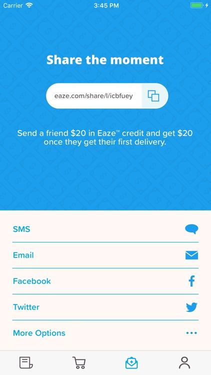 Eaze screenshot-3