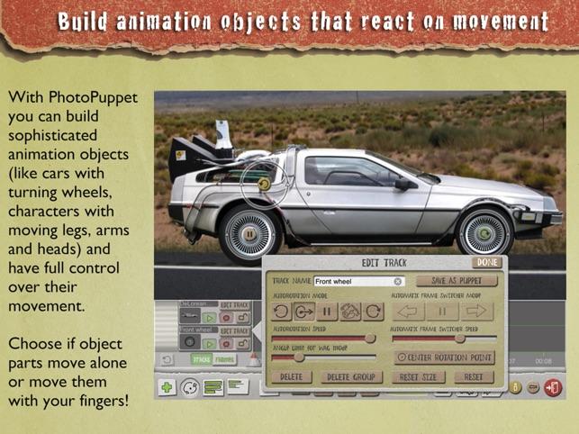 PhotoPuppet HD Screenshot