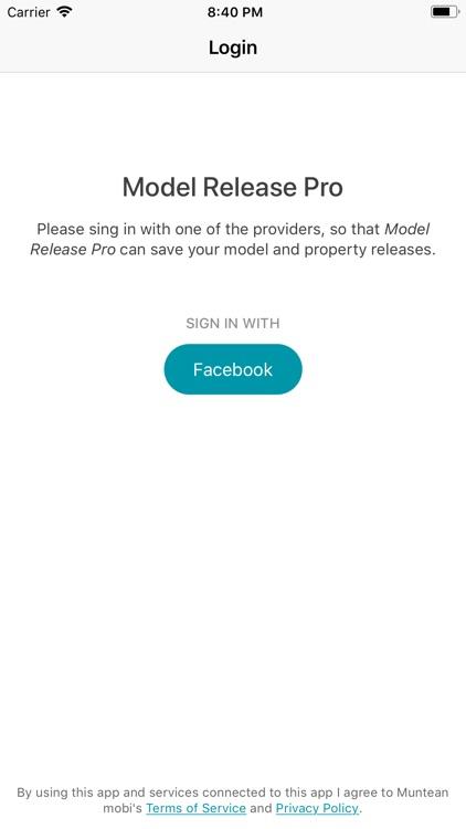 Model release pro screenshot-6
