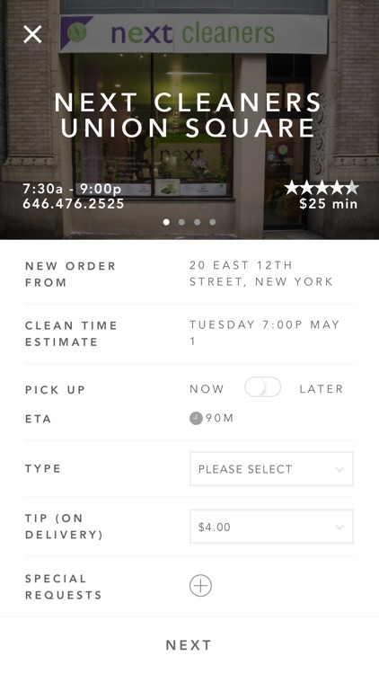 Next Cleaners Dry Cleaning