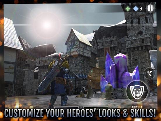 Скачать игру Heroes and Castles 2 Premium