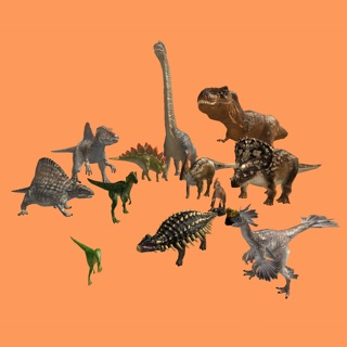 Image of: All Dinosaurs Pack Itunes Apple Dinosar Dinosaurs In Ar On The App Store