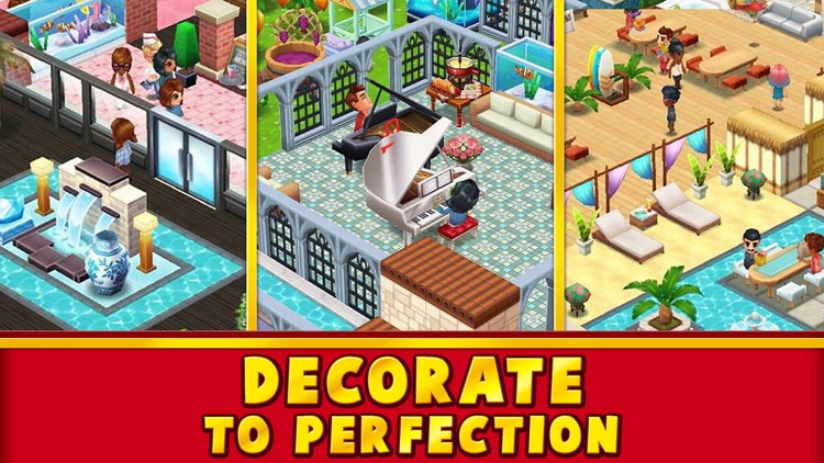 Food Street - Restaurant Game screenshot-3
