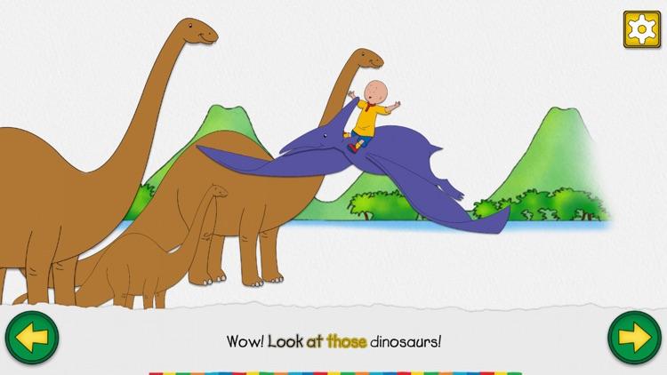 Caillou the Dinosaur Hunter screenshot-3