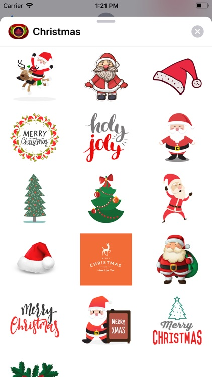 Christmas Countdown! Stickers!