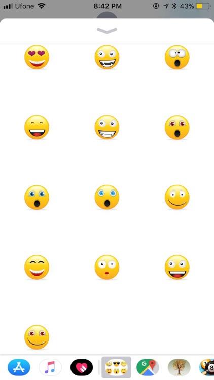 Smileys Stickers - Emojis screenshot-4