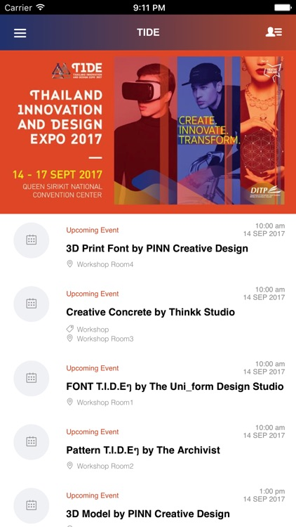 Thailand Innovation and Design Expo 2017