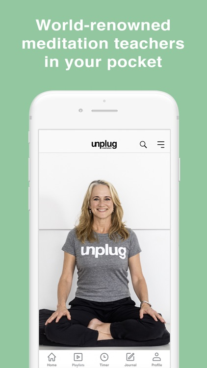 Unplug: Guided Meditation screenshot-3