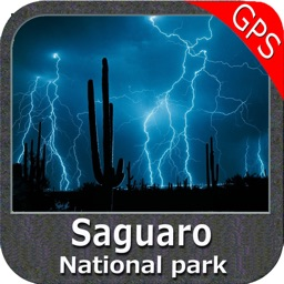 Saguaro National Park - GPS Map Navigator