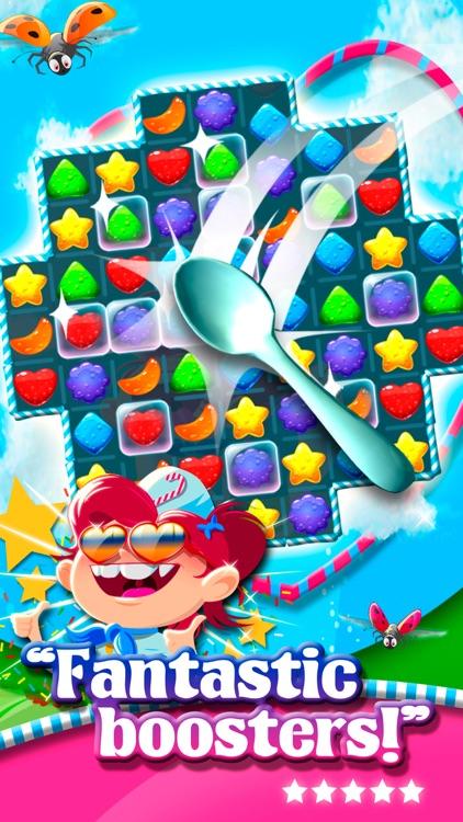 Match 3 Sweet Lolly Candies HD screenshot-4