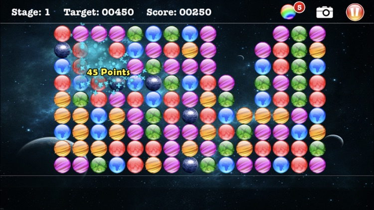Popstar Bubbles - Brain Game screenshot-3