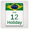 Brasil feriado Calendário 2018