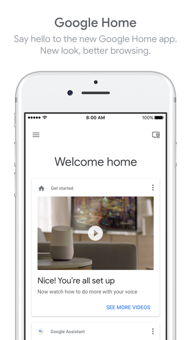 download Google Home apps 0