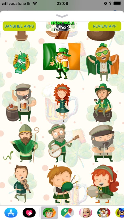 IrishMoji Magic screenshot-4