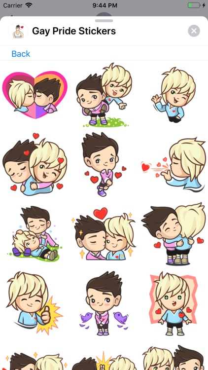 Gay Pride Stickers Collection screenshot-5
