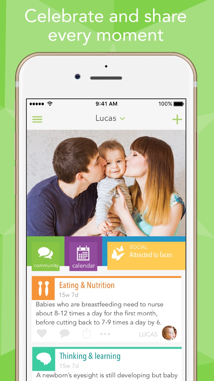 Ovia Baby Development Tracker Screenshot