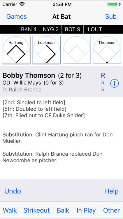 Home Field ScorebooK for Baseball/Softball screenshot-0