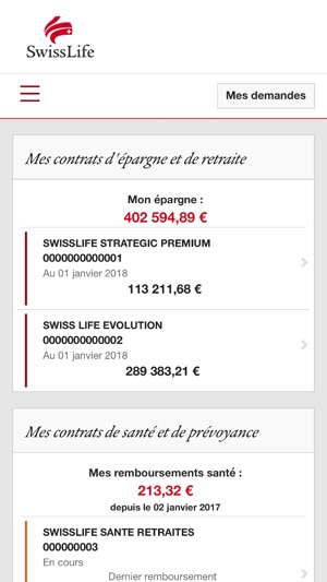 My Swiss Life Dans L App Store