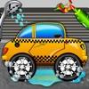 タクシーカーウォッシュシミュレーター2D - クリーン&あなたのガレージに車を修正