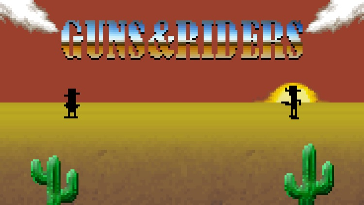 Guns and Riders screenshot-0