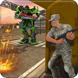 Sniper War Vs Robot Transform